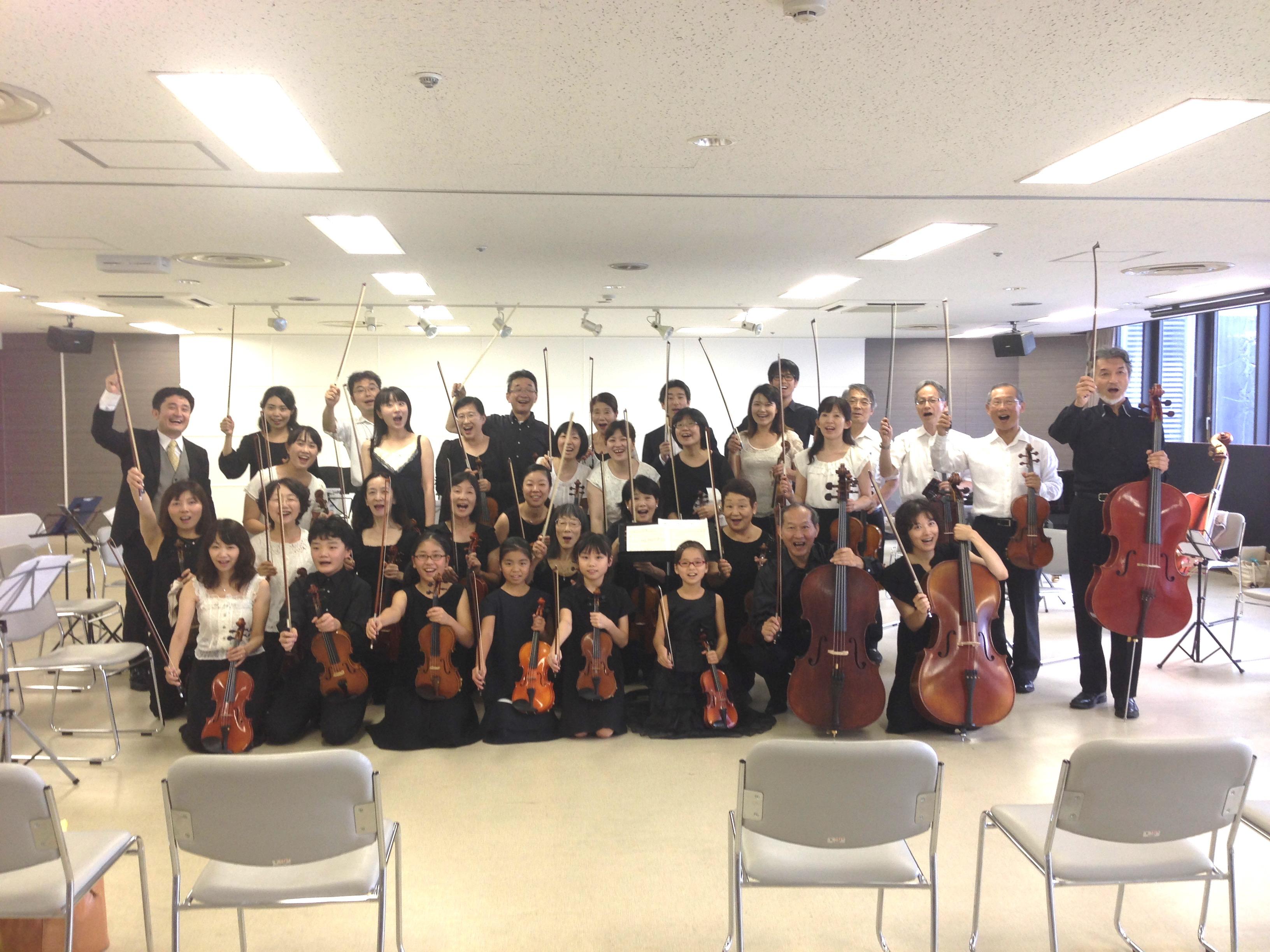 第4回夏の音楽祭コミカレ弦楽セミナー終了