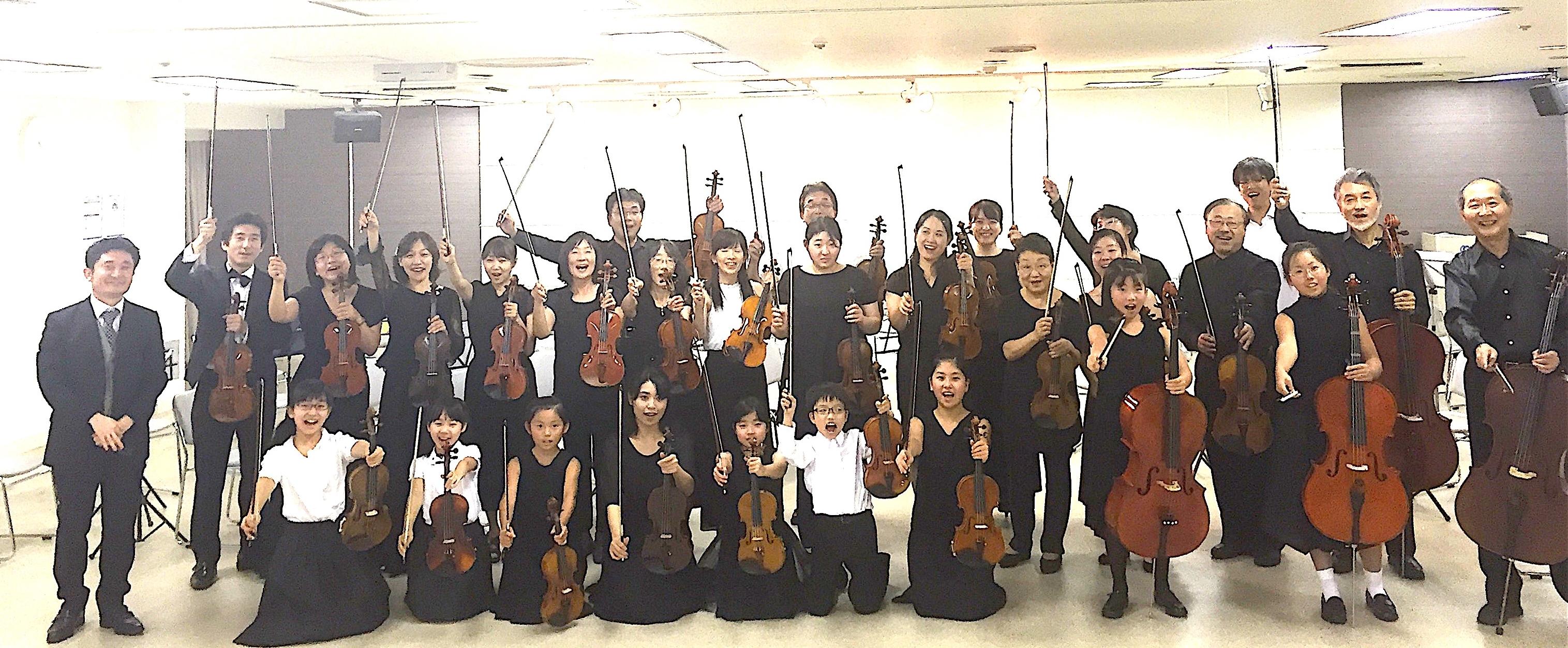 夏の音楽祭・第5回コミカレ弦楽セミナー&ヴァイオリン教本撮影