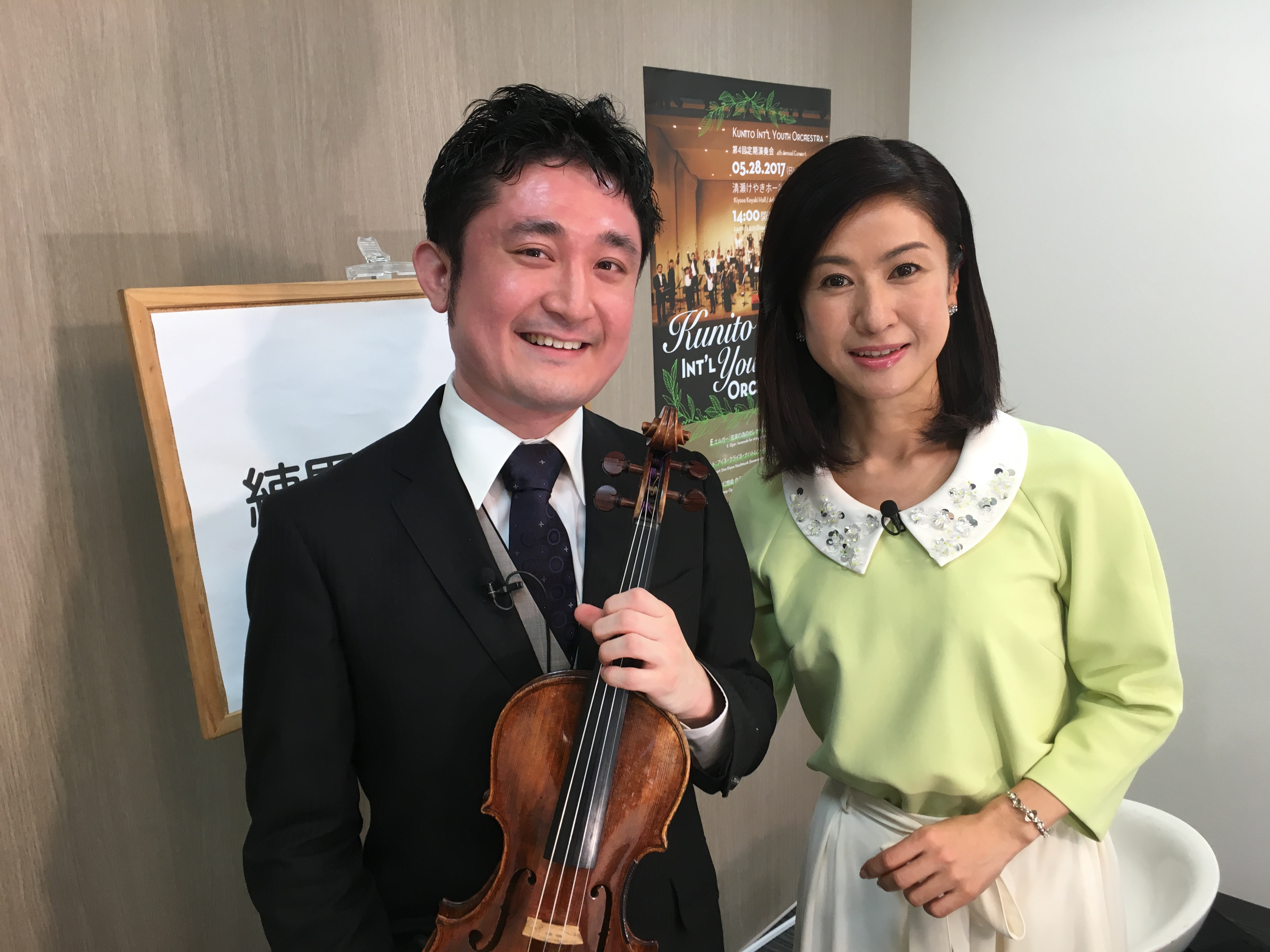 J:COM練馬人図鑑ゲスト出演 (MC:小林綾子さん)