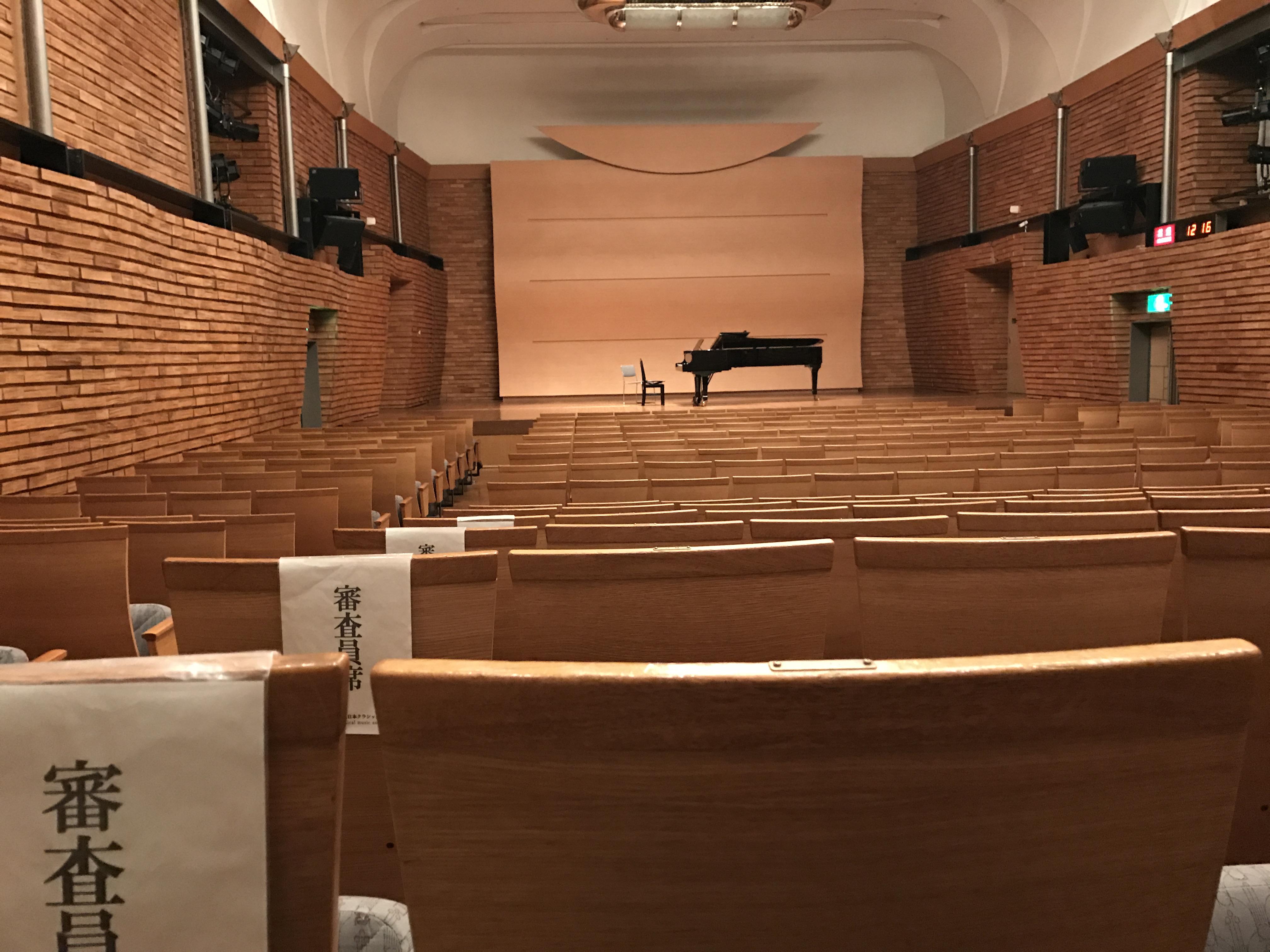 日本クラシック音楽コンクール全国大会(東京)中学生の部審査2016